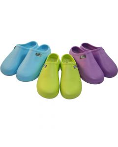 Town and Country Lime Green Cloggies 7