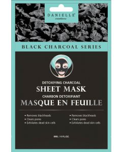 Danielle Black Charcoal Series Sheet Mask