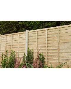Pressure Treated Superlap Fence Panel