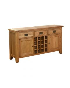 Vancouver 3 Drawer 2 Door Wine Table
