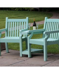 Winawood Sandwick Love Seat Duck Egg Green