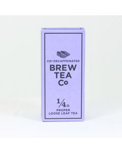 CO2 Decaffeinated Tea - 1/4lb Loose Leaf