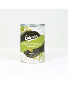 Green Flageolet Beans in Salted Water