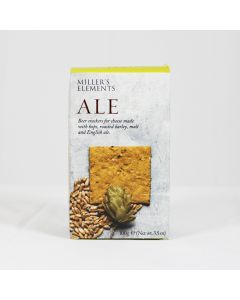 Millers Elements Ale Crackers 100g