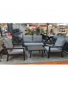 La Rochelle 2 Seat Sofa & 2 Sofa Armchairs with Rectangle Coffee Table