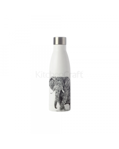 Maxwell & Williams Marini Ferlazzo 500ml African Elephant Double Walled Insulated Bottle