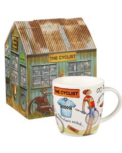At Your Leisure Squash Mug The Cyclist