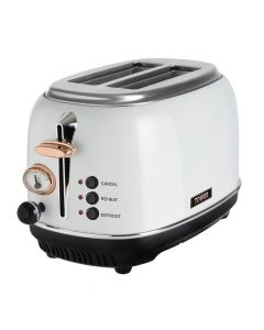 Tower Botega 2 Slice Toaster - White