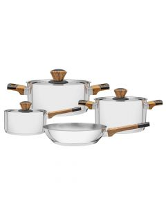 Tramontina Brava Cookware Set 4pcs