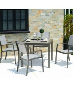 LifestyleGarden Solana 88cm Square Dining Set