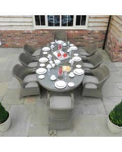 4 Seasons Sussex 8 Seat Oval Dining Suite