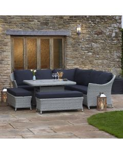 Chatsworth Modular Sofa Set with Firepit