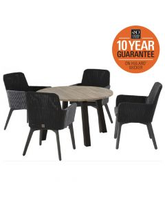 4 Seasons Lisboa 4 Seat Dining Set