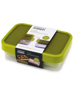 Joseph Joseph GoEat™ Space-saving Lunch Box Green