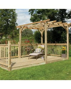Ultima Pergola Deck Kit - Large