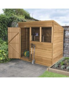 Overlap Pent Shed - Small