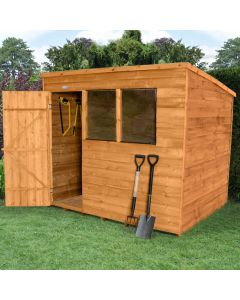 Overlap Pent Shed - Large
