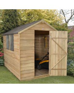 Overlap Apex Shed - Large