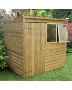 Tongue & Groove Pent Shed