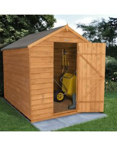 Overlap Dip Treated 6x8 Apex Shed (no window)