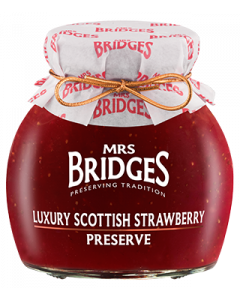 Luxury Scottish Strawberry Preserve 340g