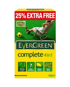 EverGreen Complete 4 in 1 100m2 + 25% Extra Free