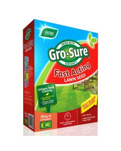 Gro-sure Fast Acting Lawn Seed 15m2