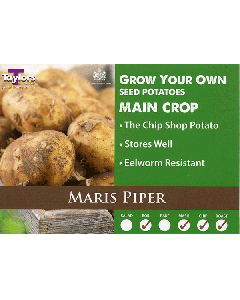 Taylors Bulbs: Maris Piper 2kg seed potato's