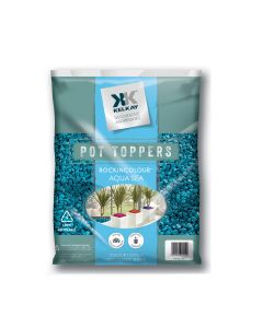 Pot Toppers - Aqua Sea