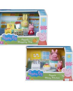 Peppa Pig Outdoor Fun Swing and Slide Sets