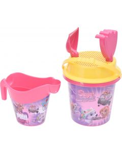 Beach Bucket Set With Accessories Pink