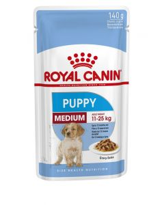 Royal Canin WET MED PUPPY 140G