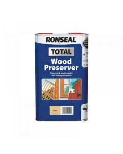 Ronseal Wood Preserver Clear 5L