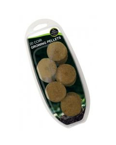 20 Coir Growing Pellets