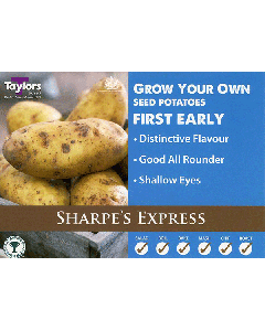 Taylors Bulbs: Sharpes Express 2kg seed Potato's