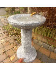 Cascade Bird Bath - Grey Granite