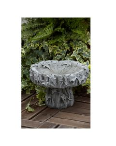 Small Ivy Bird Bath