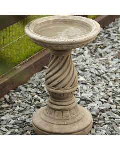 Scroll Bird Bath