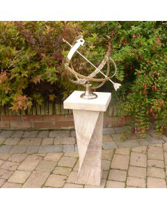 HD SUNDIAL TWISTED BASE, 65CM