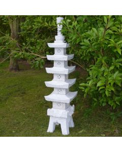 Pagoda With Window 150cm - Grey Granite