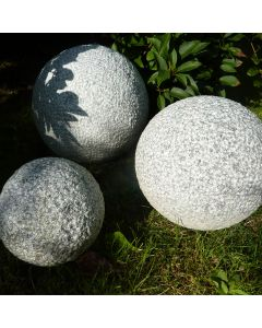 Fine Picked Plain Sphere Large - Pinky Granite 1pc