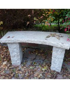 Curved Bench - Beige Granite