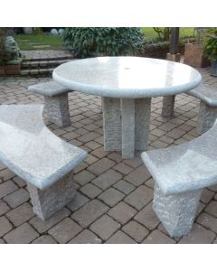 Richmond Table Set - Grey Granite