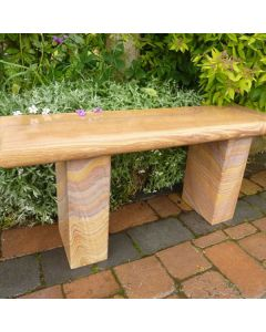 Straight Bench - Rainbow Sandstone