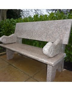 Hayworth Garden Bench - Grey Granite