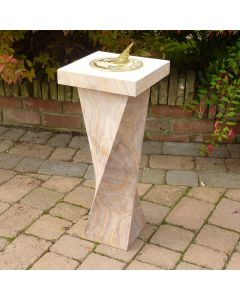 Twisted Column Base with Disc Top