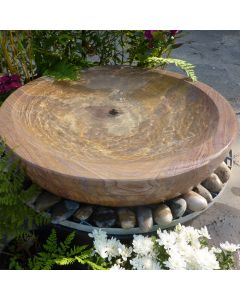 Babbling Bowl Fountain Rainbow - Large