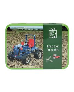 Gift In A Tin Tractor