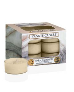 Yankee Candle Warm Cashmere - Tea Lights