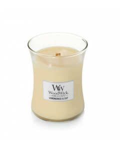 Woodwick Lemongrass and Lily Medium
